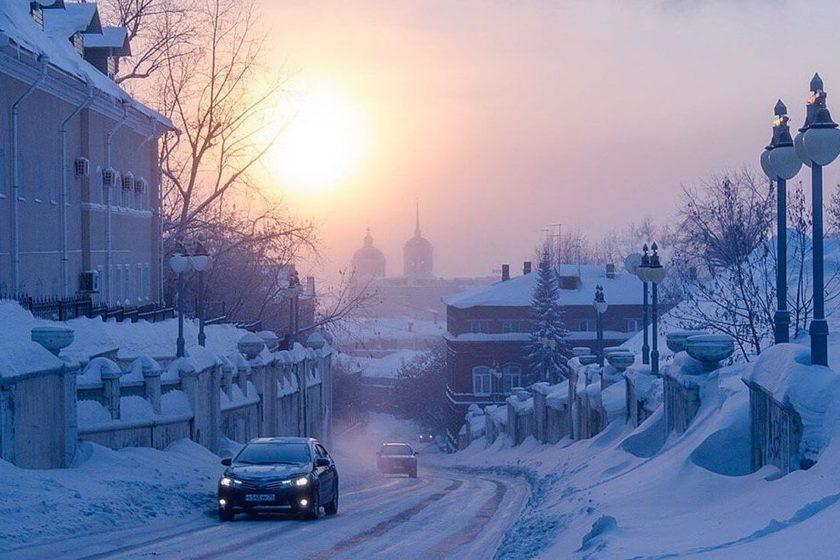 Tomsk zima
