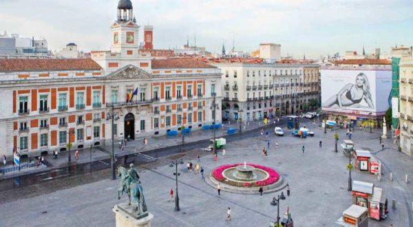 ploshchad puehrta del sol serdce ispanskoj stolicy
