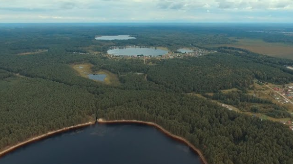 Озеро Самунь в Томской области, ЗАТО Северск